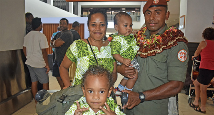 Emotional Return Home For RFMF Corporal