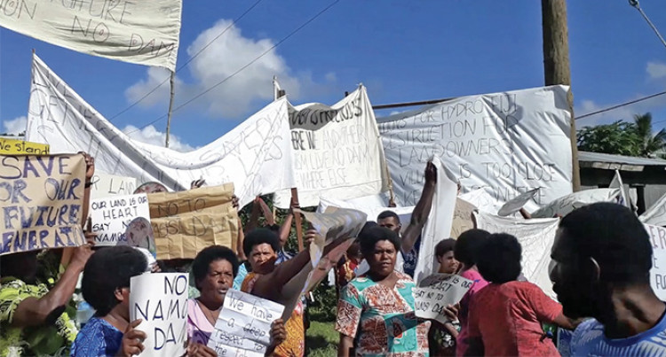 Namosi Villagers Against Hydro Dam Project
