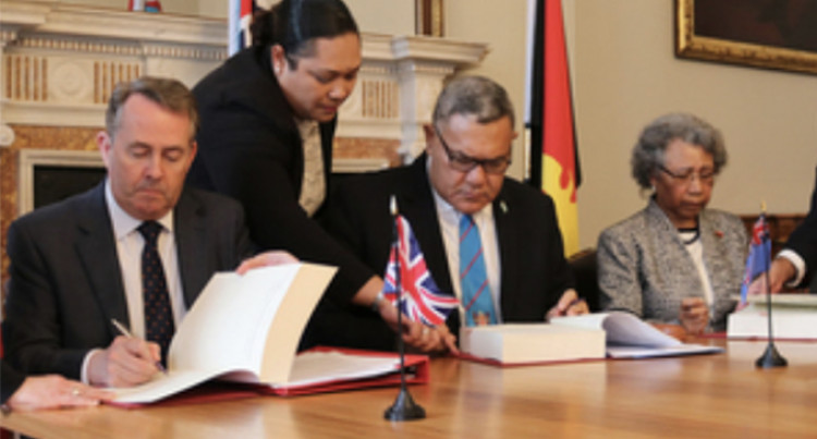 Fiji To Benefit From UK-Pacific Agreement; FSC Commends Signing