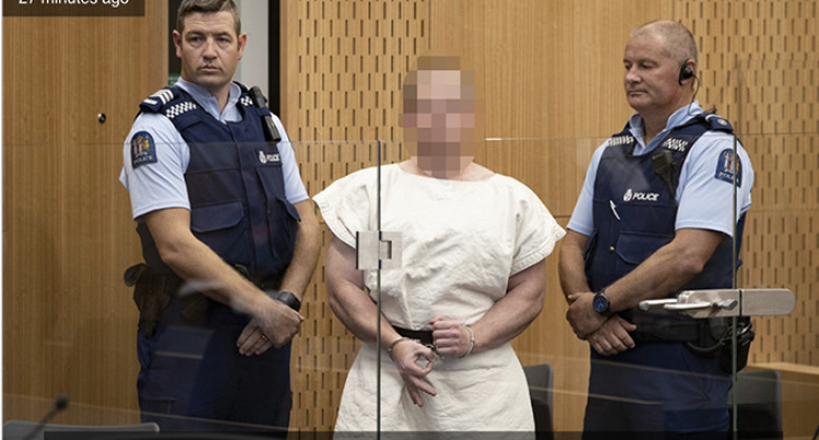 Christchurch Shootings: Brenton Tarrant Appears In Court, Charged With Murder
