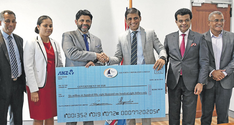 Fiji Ports Corporation Hands Over $16 Million Dividend To Its Shareholders
