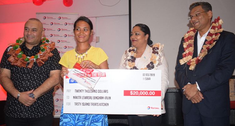 Total Fiji Announce Winners Of Startupper Of The Year By Total Challenge