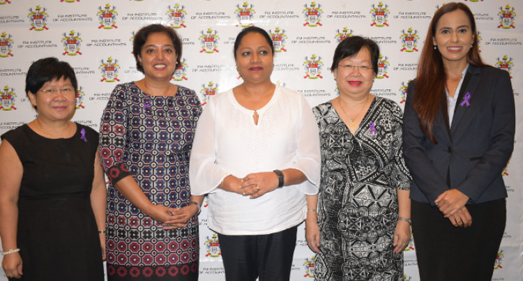Fiji Institute of Accountants' Women Members Urged To Support Each Other