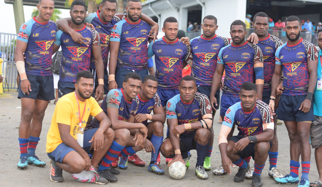 Tabadamu 7s side for 43rd Fiji Bitter Marist 7s at ANZ Stadium on March 22, 2019. Photo: Ronald Kumar.