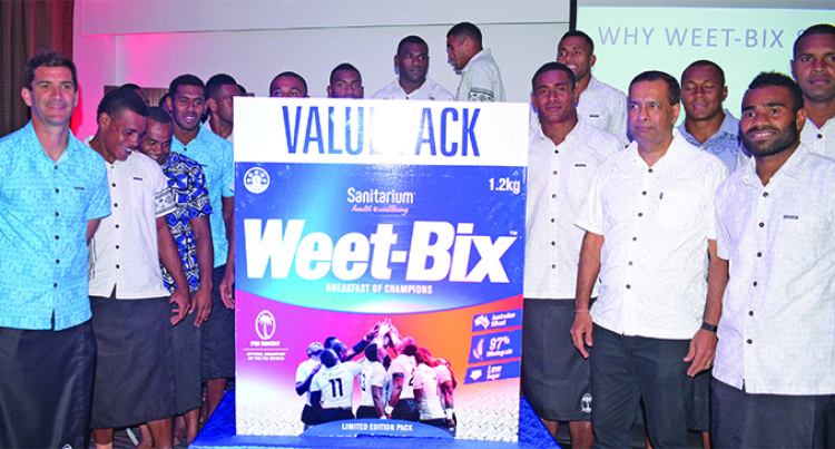 Weet-Bix, Fiji Rugby Union Seals Deal