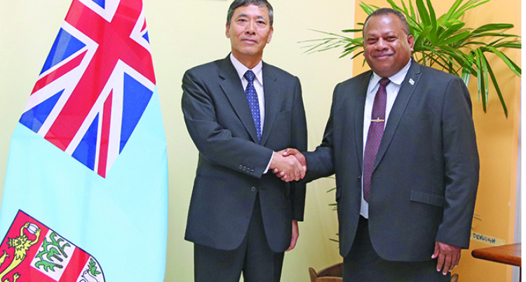 Fiji-Japan Seek To Strengthen Diplomatic Relationship