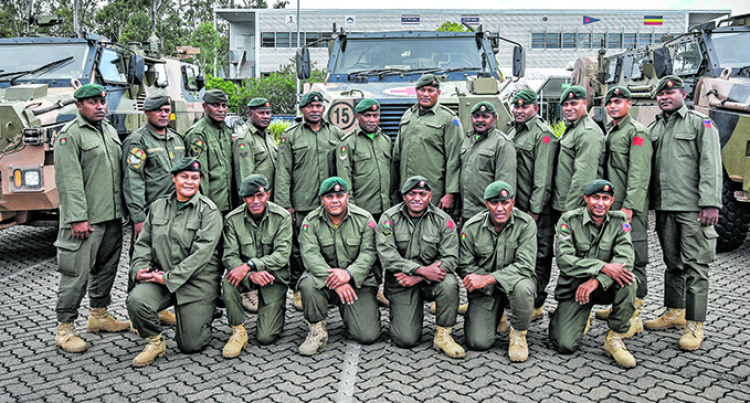 RFMF Learns Bushmaster Operation