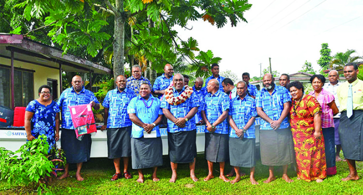 Ministry Hands Over Boat To Combat Illegal Fishers
