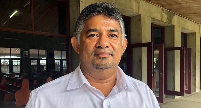 Courts Fiji marketing director  Anil Senewiratne.  Photo: Neelam Prasad