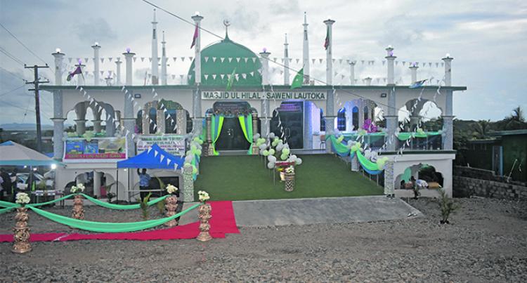 Big Mosque Opens In Lautoka
