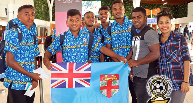 'Fijian U17 Tour Start Of Mission 2026'