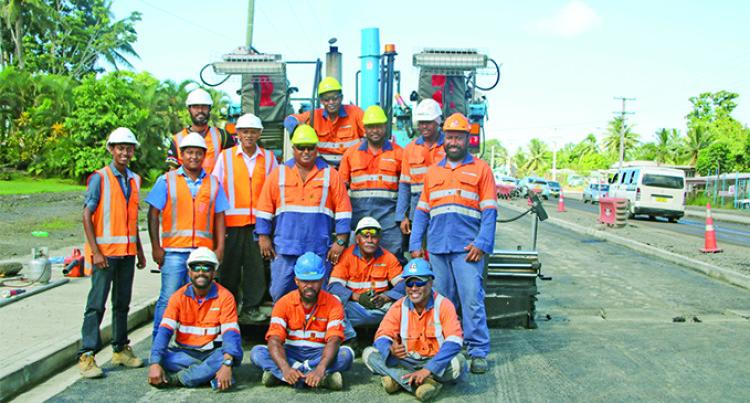 Four-lane Project Makes Progress