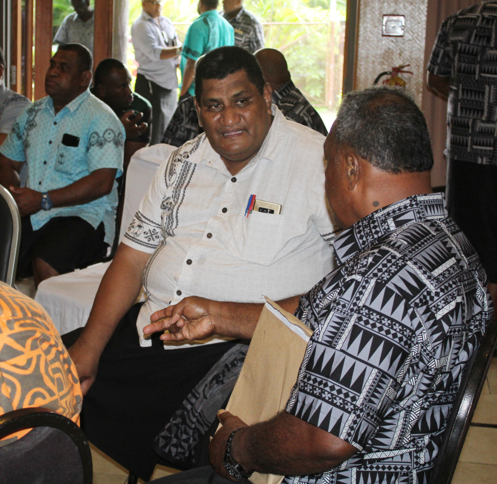 Fiji Rugby Union CEO, John O'Connor during FRU AGM at Novotel Hotel n April 27, 2019. Photo: Ronald Kumar.