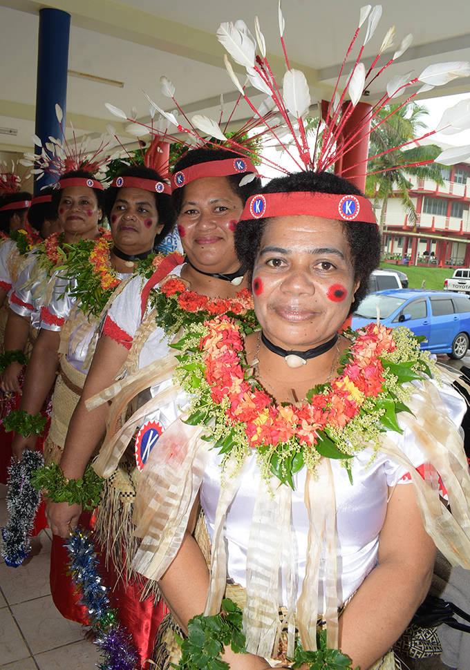 Members of Komo Meke group during the Fijian Teachers Association 85th Annual Delegates  Conference at Yat Sen Hall in Suva on April 23, 2019. Photo: Ronald Kumar