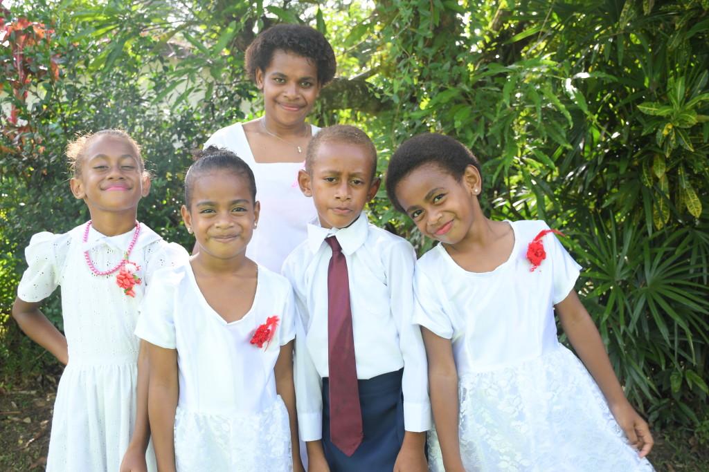 Gloria Marama, Leilani Hope, Atikini Nemiah, Priscilla faith & Unaisi
