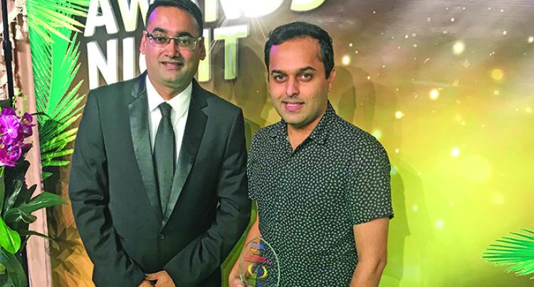 Mohit Kapadia Takes Innovation Award