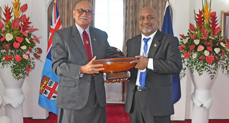 Marshalls Envoy Presents Credentials