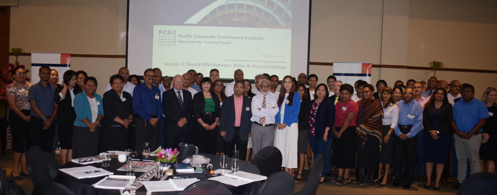 Participants during (PCGI) Pacific Corporate Governance Institute summit at Grand Pacific Hotel on April 1, 2019. Photo: Ronald Kumar.