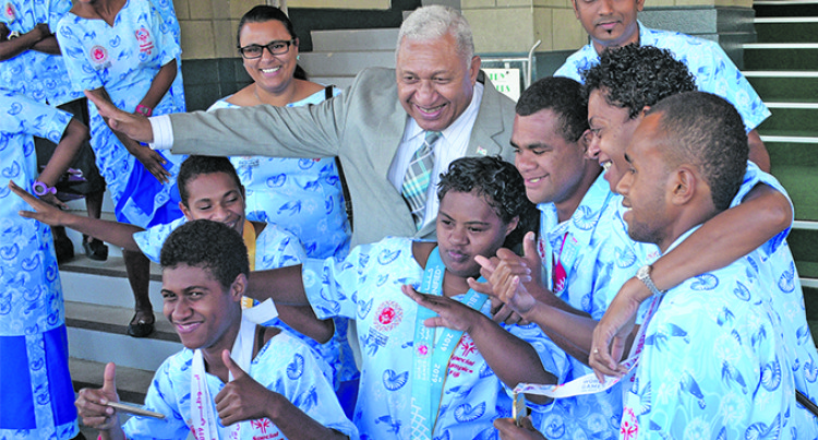 PM Treats Members Of Special Olympic Team
