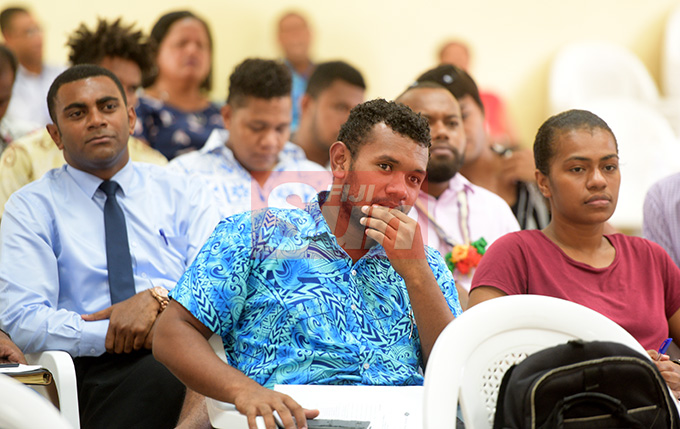 Youths during Young SODELPA AGM in Suva on April 30, 2019. Photo: Ronald Kumar.