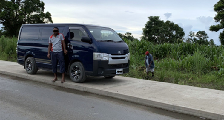 Illegal Parking Damage Fiji Roads Authority Infrastructure