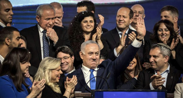 Trump  Congratulates Netanyahu On Re-election