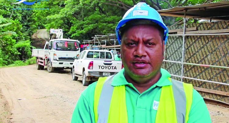 Workers Make Progress On Pipeline Leakage Repairs