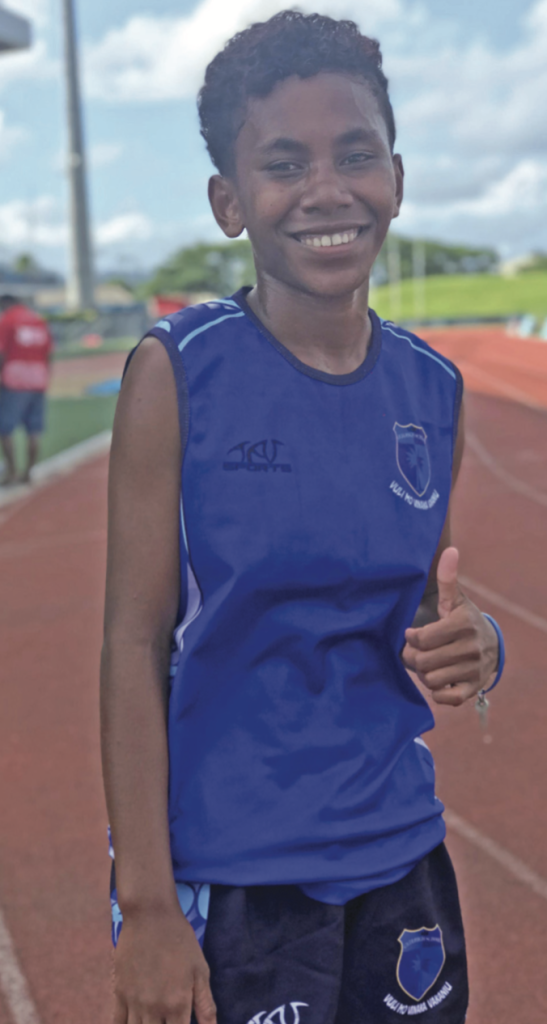 Cicia High School's Litiana Vola during the Maritime Zone at the ANZ Stadium, Suva on April 12, 2019. Photo: Anasilini Natoga