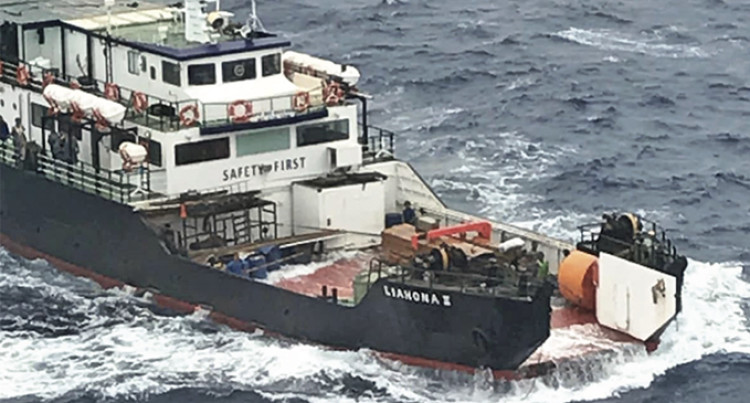 Passenger: Frightful Open Seas Incident, Vessel Loses Ramp