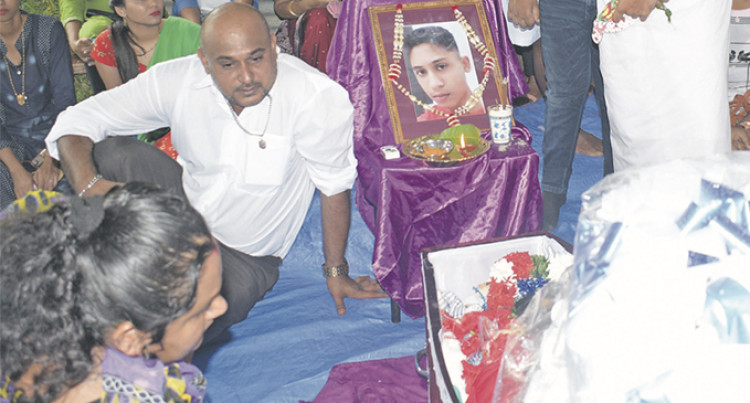 Family, Friends Bid Roy, 15, Final Farewell