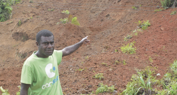 Kings Highway Landslides Stop Nasonua From Reaching Village