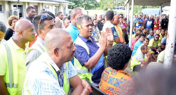 Water Authourity of Fiji Wailoku Depot Meeting