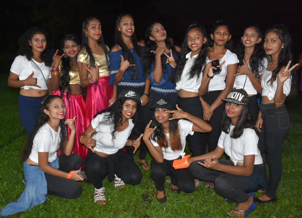 Students of Bulileka Sanatan College performed special items during the golden jubilee celebration in Labasa on April 18, 2019.  Photo:Shratika Naidu