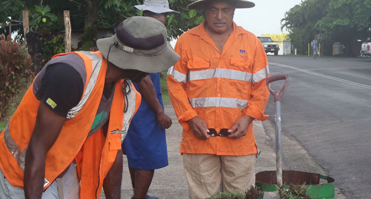 Savusavu Rotarians Replant Trees, Beautify 'Hidden Paradise' Town