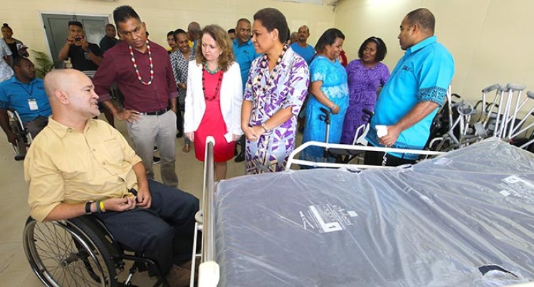 UK Charity Aids Fijians With Spinal Injuries