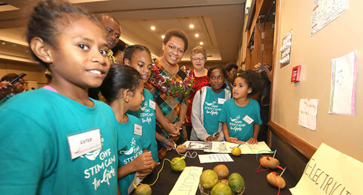 Vuniwaqa Lauds STEM Summer Camp For Girls