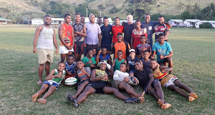 Fiji League Coach Reaches Out To Yasawa Students
