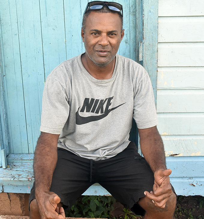 A landowner Samisoni Vavudali at Dratabu village in Nadi on 19 May, 2019. Photo: Mereleki Nai
