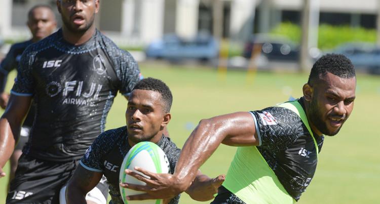 Fiji Sevens Training At Albert Park