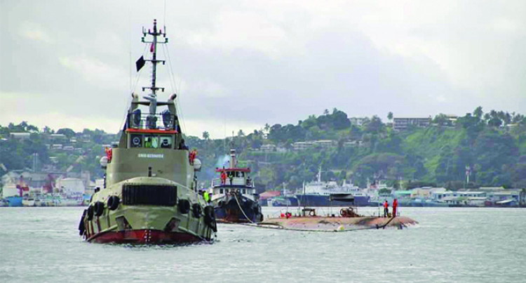 Southern Phoenix Cleared From Suva Harbour