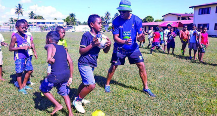 Tanerau Latimer Bets On Fiji To Win HSBC World Rugby Sevens Series