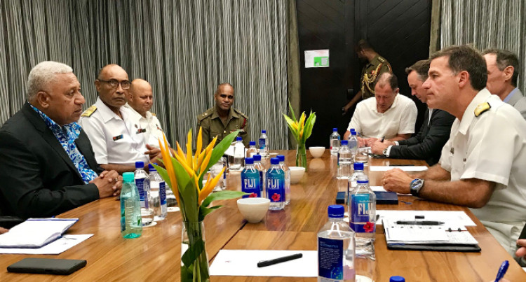Fiji, United States Of America Ties 'Improve Maritime Security'