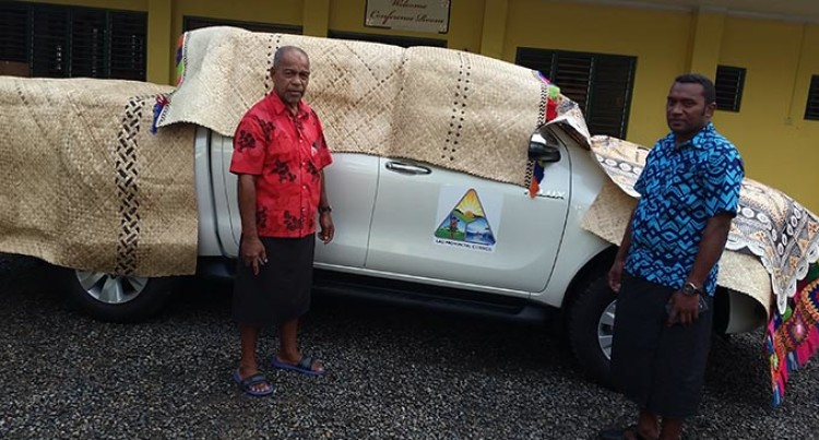 New Vehicle Allows Better Mobility For Roko Tui Lau