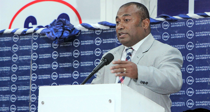 Minister for Health and Medical Services Dr Ifereimi Waqainabete.   Photo: Fiji National University