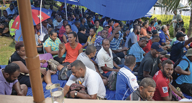 Unions Saga: 500 Workers Apply For Water Authority Of Fiji