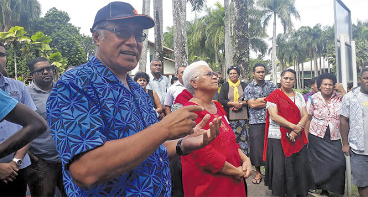 University Of The South Pacific 'Mini Protest' Wants Answers