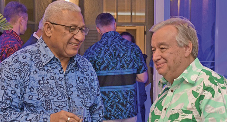 Big Praise For Fiji From UN Secretary-General