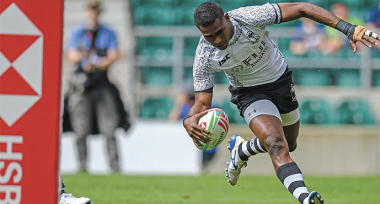Fiji 7s Rugby: Aminiasi Tuimaba's Double