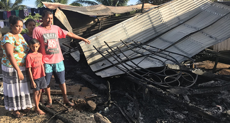 Labasa Family Seeks Help To Rebuild Home After It Was Destroyed By Fire
