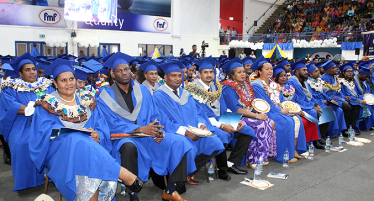 Be A Better Version Of Yourself: Dr Waqainabete To Graduates